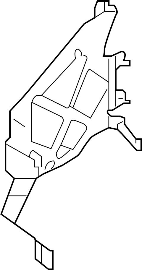 Infiniti Ex35 Engine Control Module Bracket  Journey