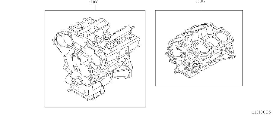 Infiniti Fx35 Engine Complete